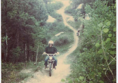 The Powerline Trail in 1976