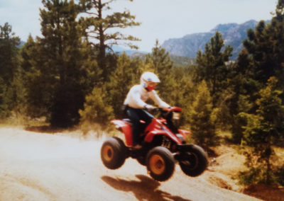 Early quads, circa 1980. PC: Jim Peasley