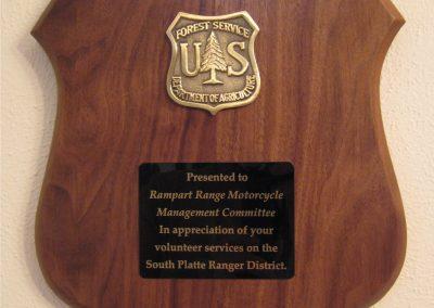 2010_USDAFS Volulnteer Services Award