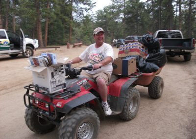 2011_Randy with the Poker Run Trash Haul