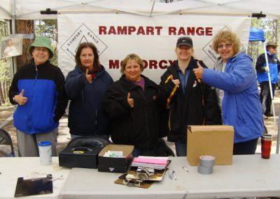 2002 - Volunteers making the event happen